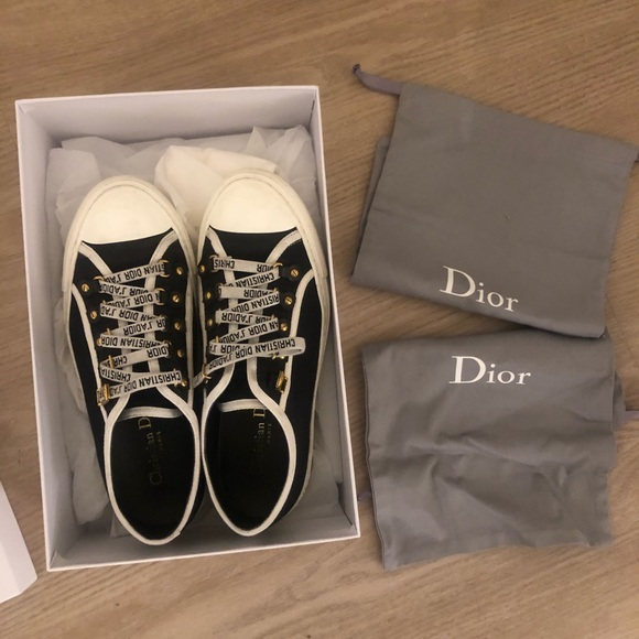 Dior Shoes   Copy Slightly Used Canvas